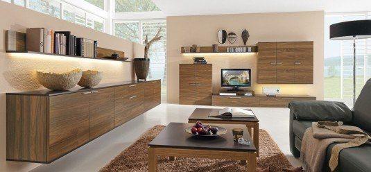 living room-wood