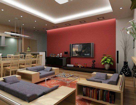 living room-wooden