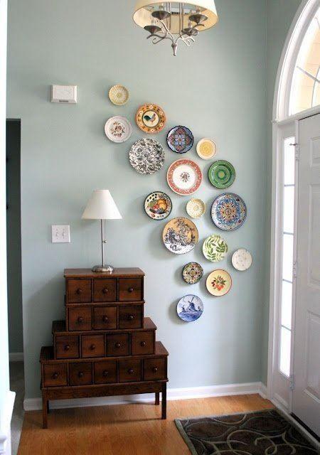 wall decoration-plates