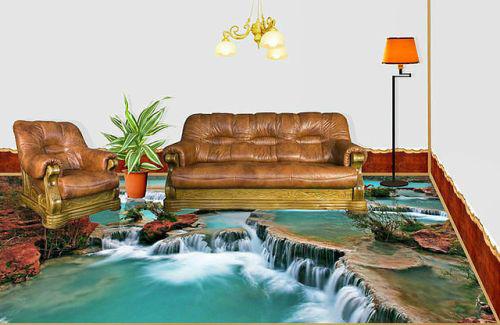 3d floor-living room1