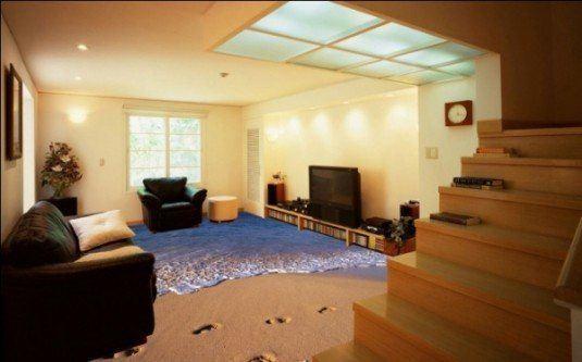 3d floor-living room3