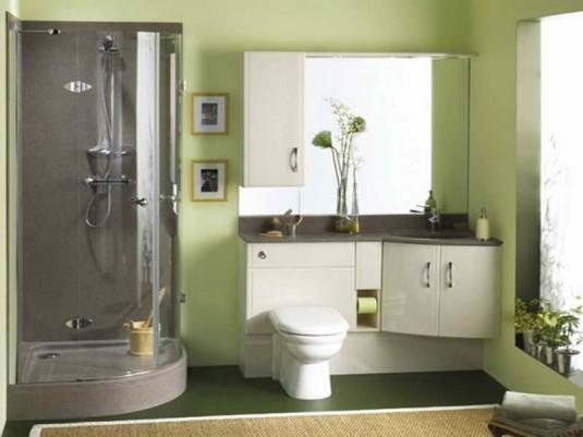 bathroom-green