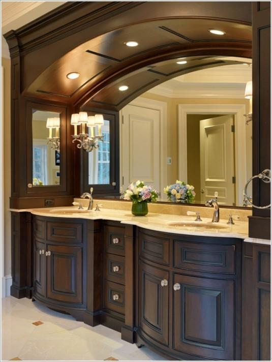 bathroom-wooden