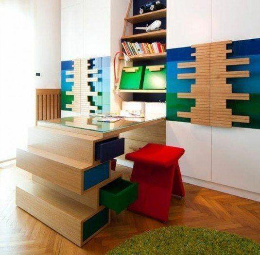 chambre-deco-espace-travail-petit-écolier