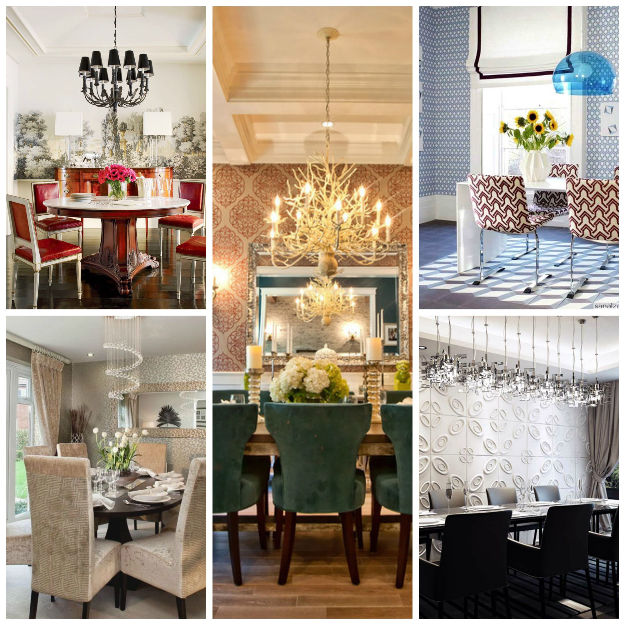 Eye-Catching Dining Room Wallpapers That Will Blow Your Mind