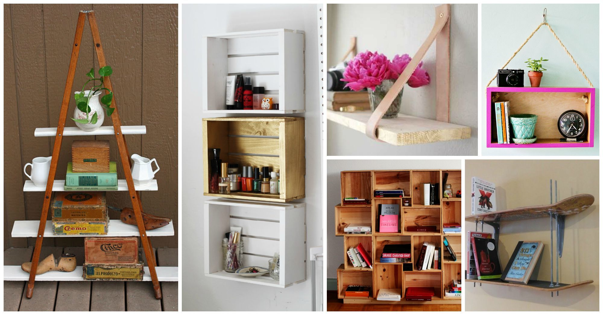 10 Inspirational Ideas That Will Make You Create Your Own Shelves