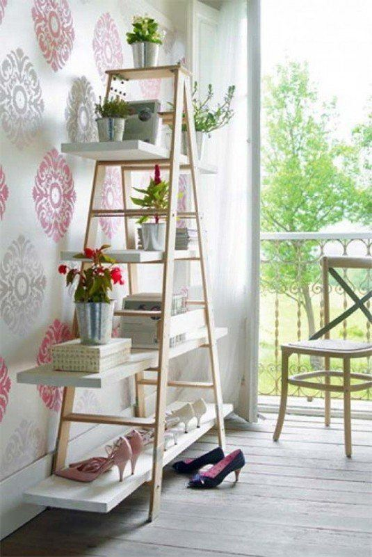diy-twenty-four-easy-ways-to-reuse-an-old-ladder-at-house24