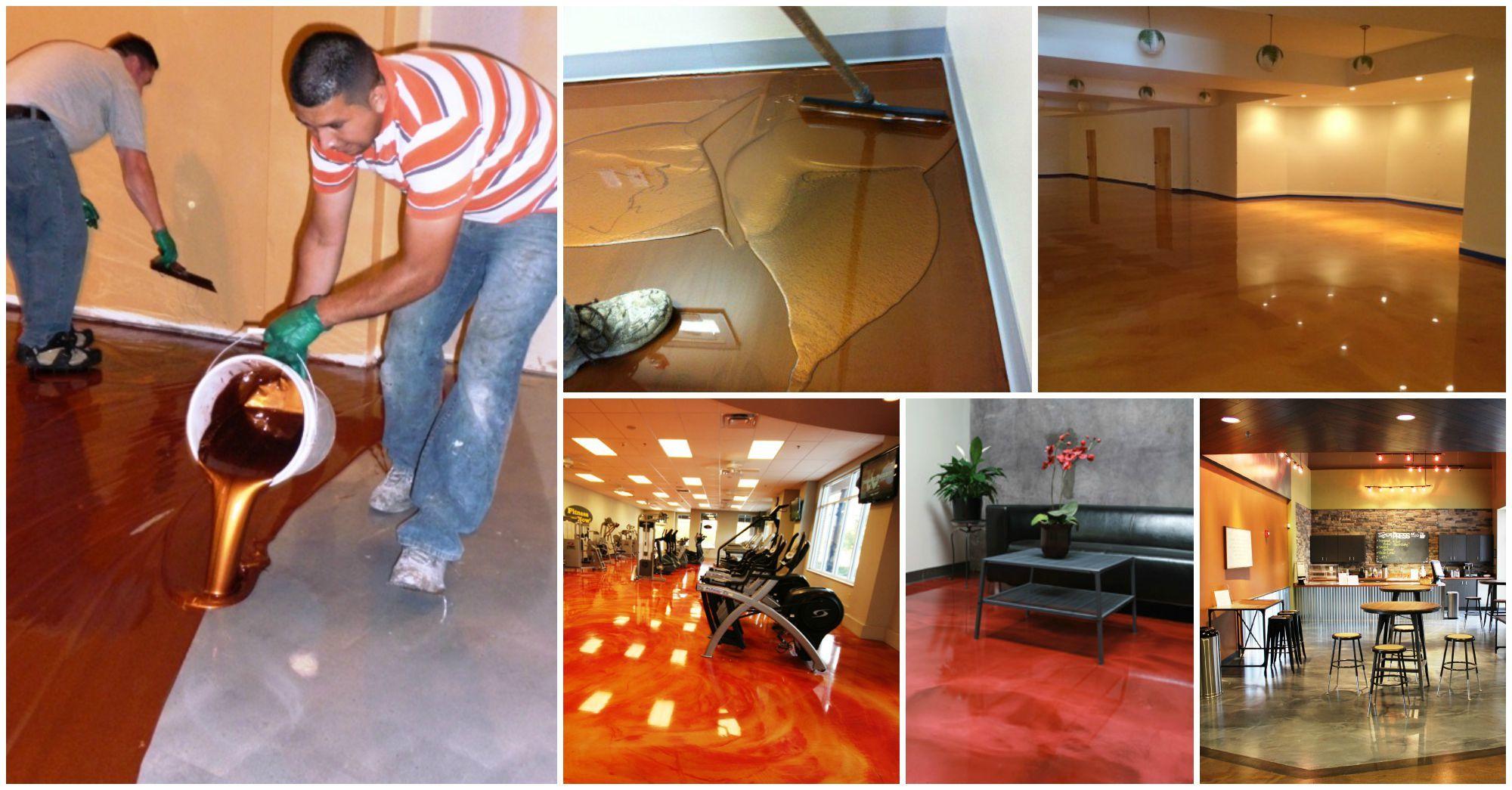 How Do They Do It? The Secret of Applying Metallic Epoxy Flooring