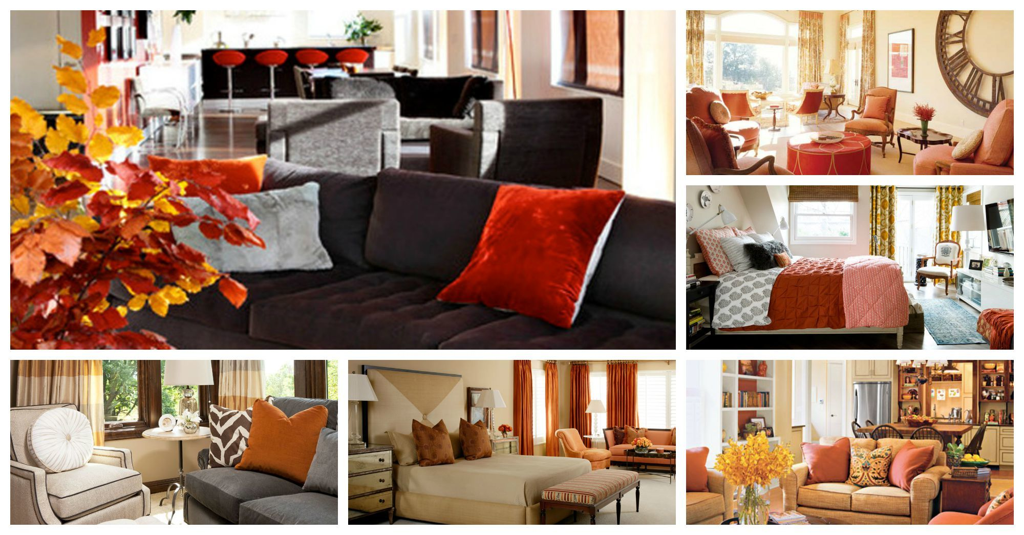 Fascinating Ways To Use The Fall Trending Colors In Your Interior