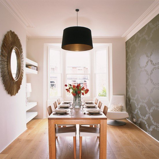 Eye catching dining room wallpapers that will blow your mind for Statements that will blow your mind