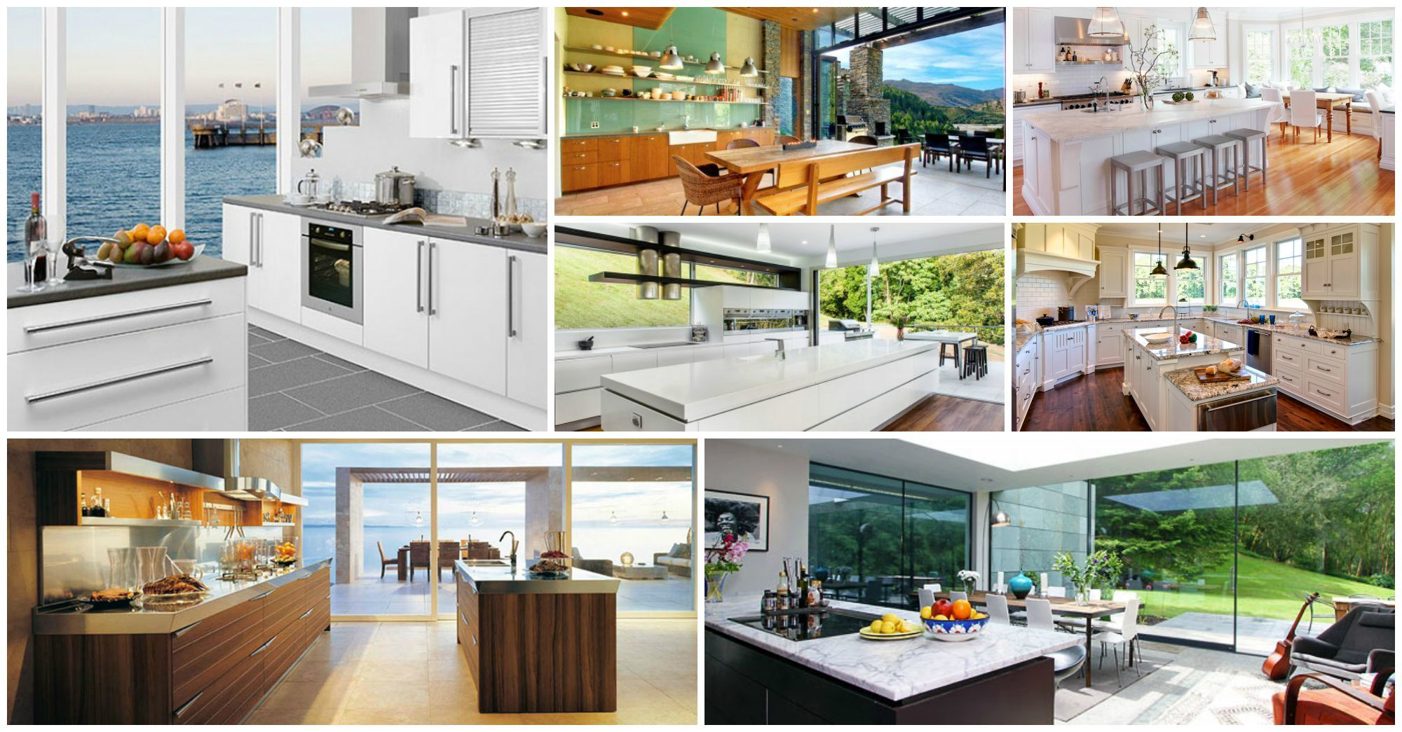 15 kitchen designs with astonishing views for View kitchens ideas