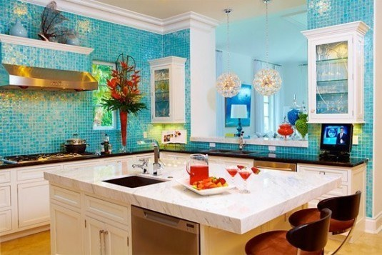kitchen-blue