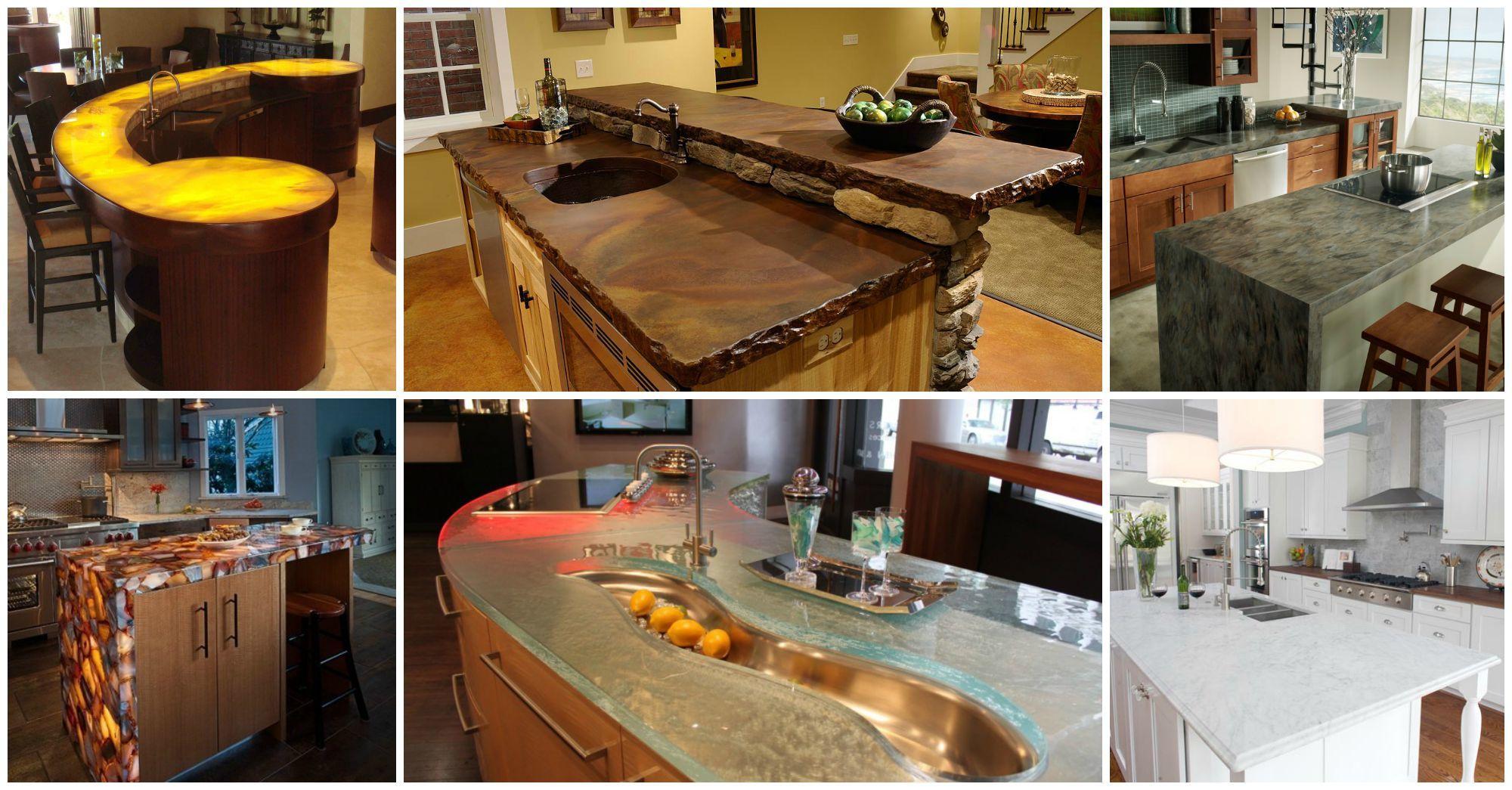 10 Astonishing Kitchen Countertops You Should Not Miss
