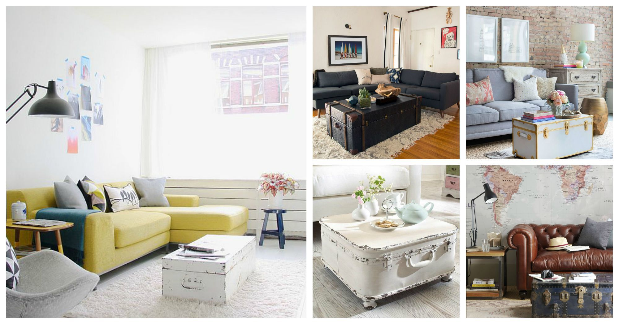 12 Fascinating Ways To Turn Old Trunks Into Amazing Coffee Tables