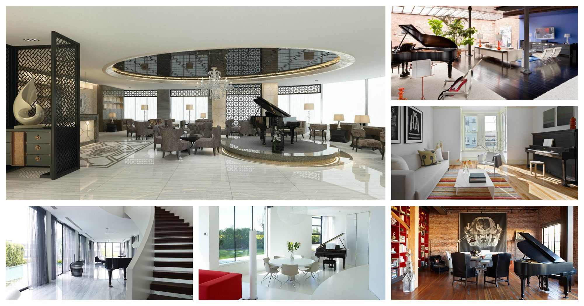 Luxurious And Classy Piano Interior Designs That Will Fascinate You