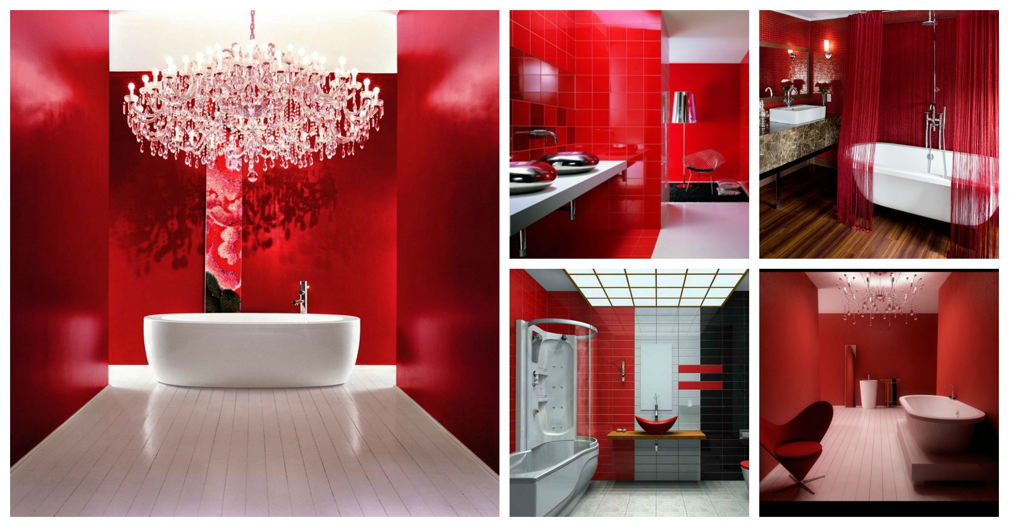 Bold And Stunning Red Bathrooms That Will Leave Your Speechless