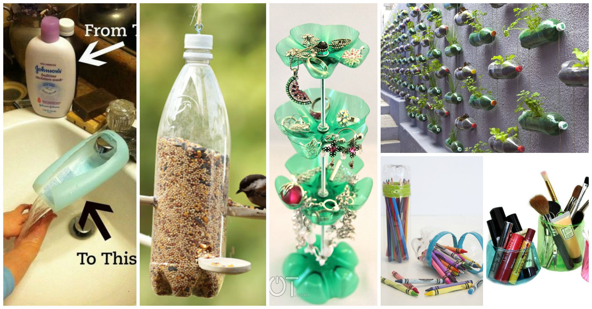 15 Awesome Ways to Reuse Plastic Bottles
