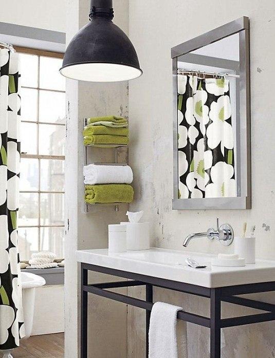 Wall-mounted-towel-rack