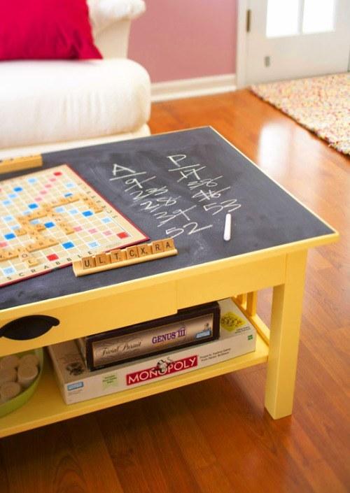 chalk coffee table
