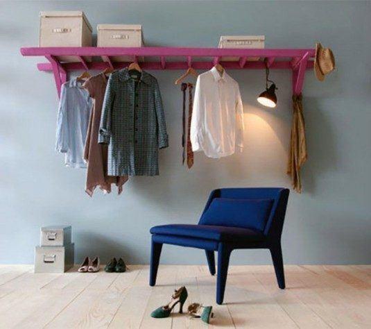 einrichtungstipps-kleiderstangen-kleiderstange-wand