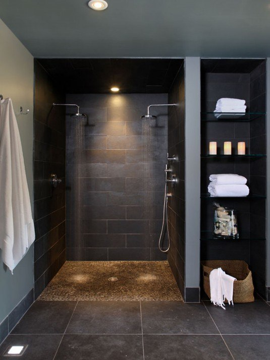 inspiration-interior-splendid-espesso-towel-shelves-storage-with-chrome-wall-shower-panels-attached-at-dark-wall-tiled-as-rustic-bathroom-ideas-noteworthy-rustic-bathroom-ideas-crazily-design-and-pi (1)