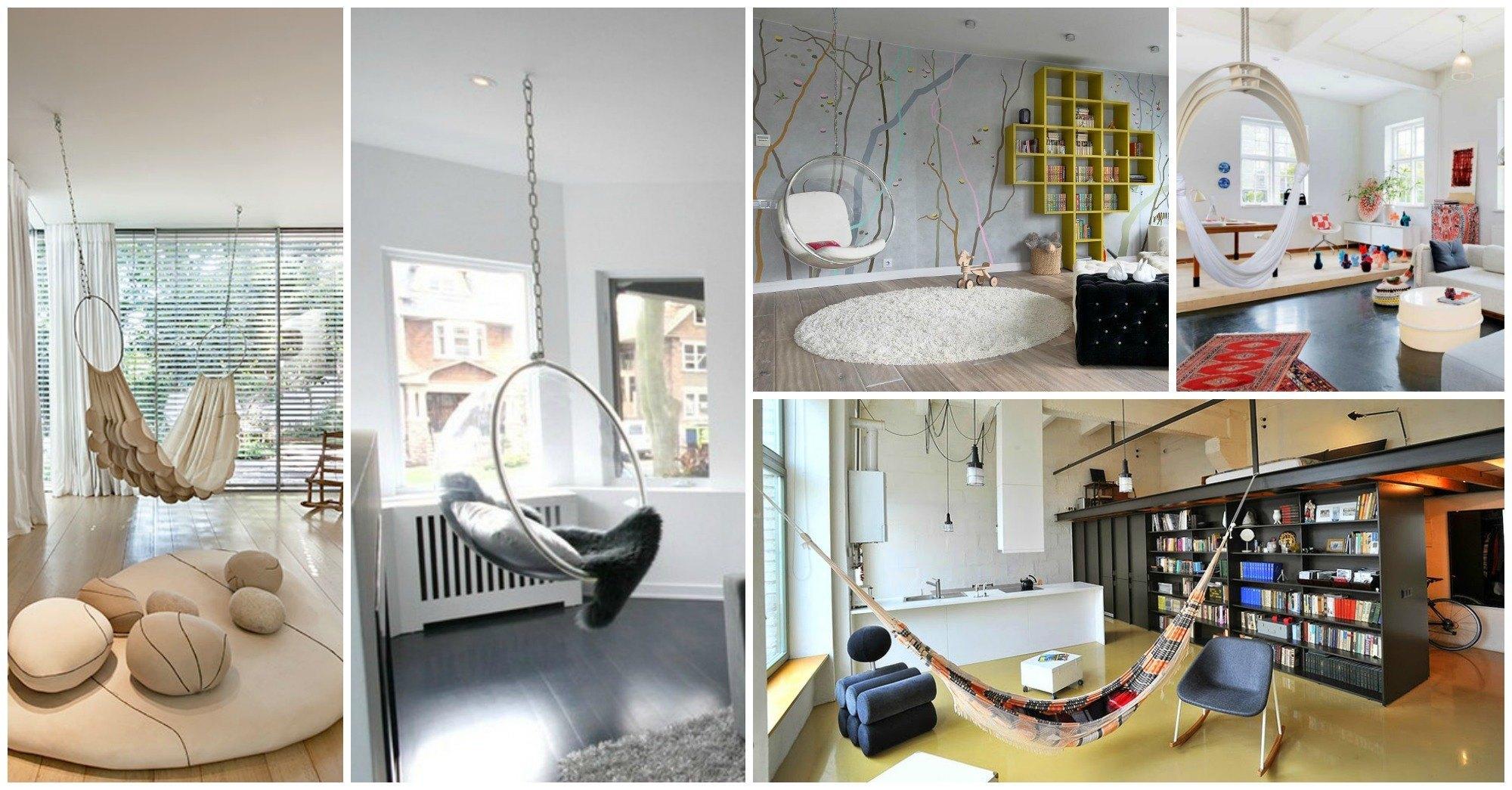 Impressive Indoor Hammock Designs For Ultimate Relaxation