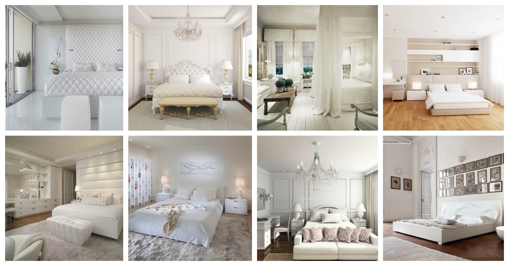 Stunning White Bedroom Designs That Will Take Your Breath Away