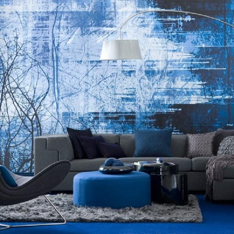Blue and Purple Interior Designs  InteriorHoliccom