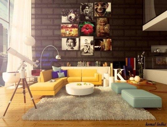 Colorful-living-room-design