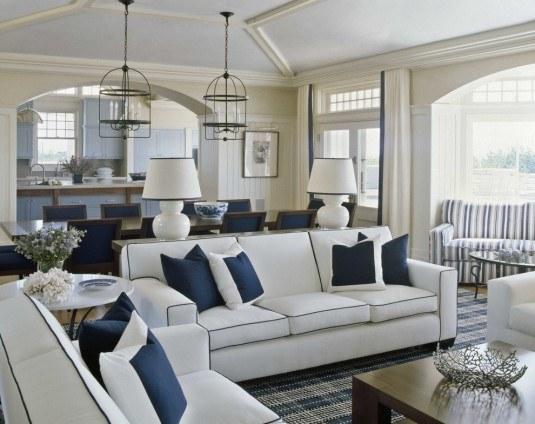 Handsome-Living-Room-Beach-design-ideas-for-Muskoka-Living-Interiors-Decorating-Ideas