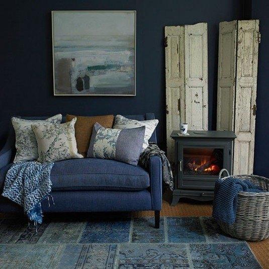 Indigo-Blue-Living-Room-Country-Homes-and-Interiors-Housetohome