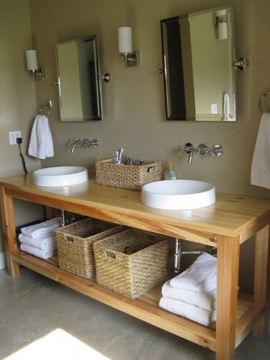 bathroom baskets