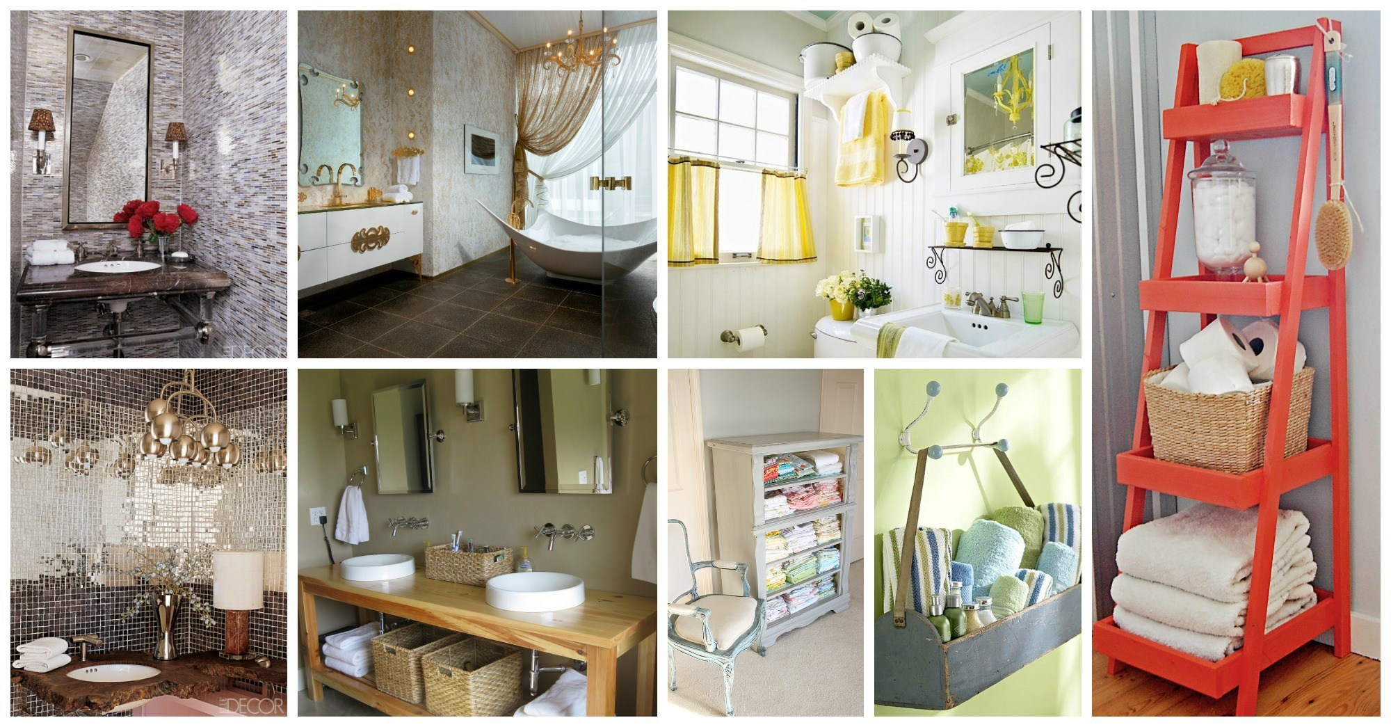 Fabulous Ideas of How to Decorate Your Bathroom
