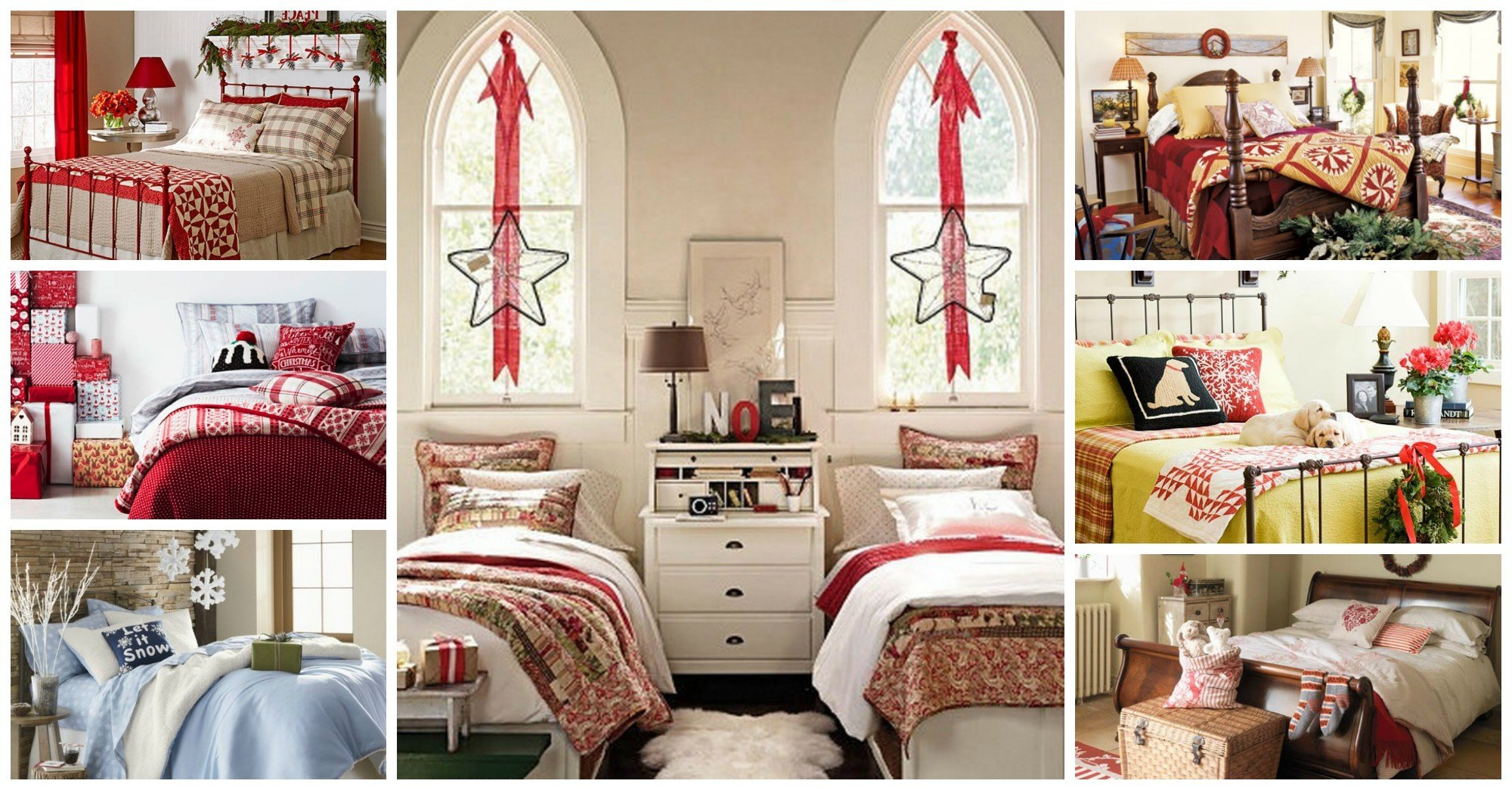 10 Amazing Ideas of How to Decorate Your Bedroom for Christmas