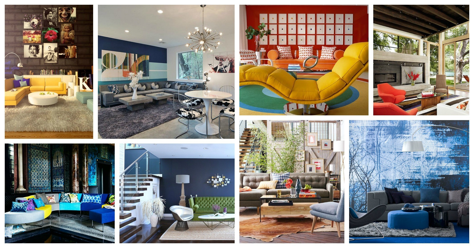 Modern And Bold Living Rooms That Will Take You Aback