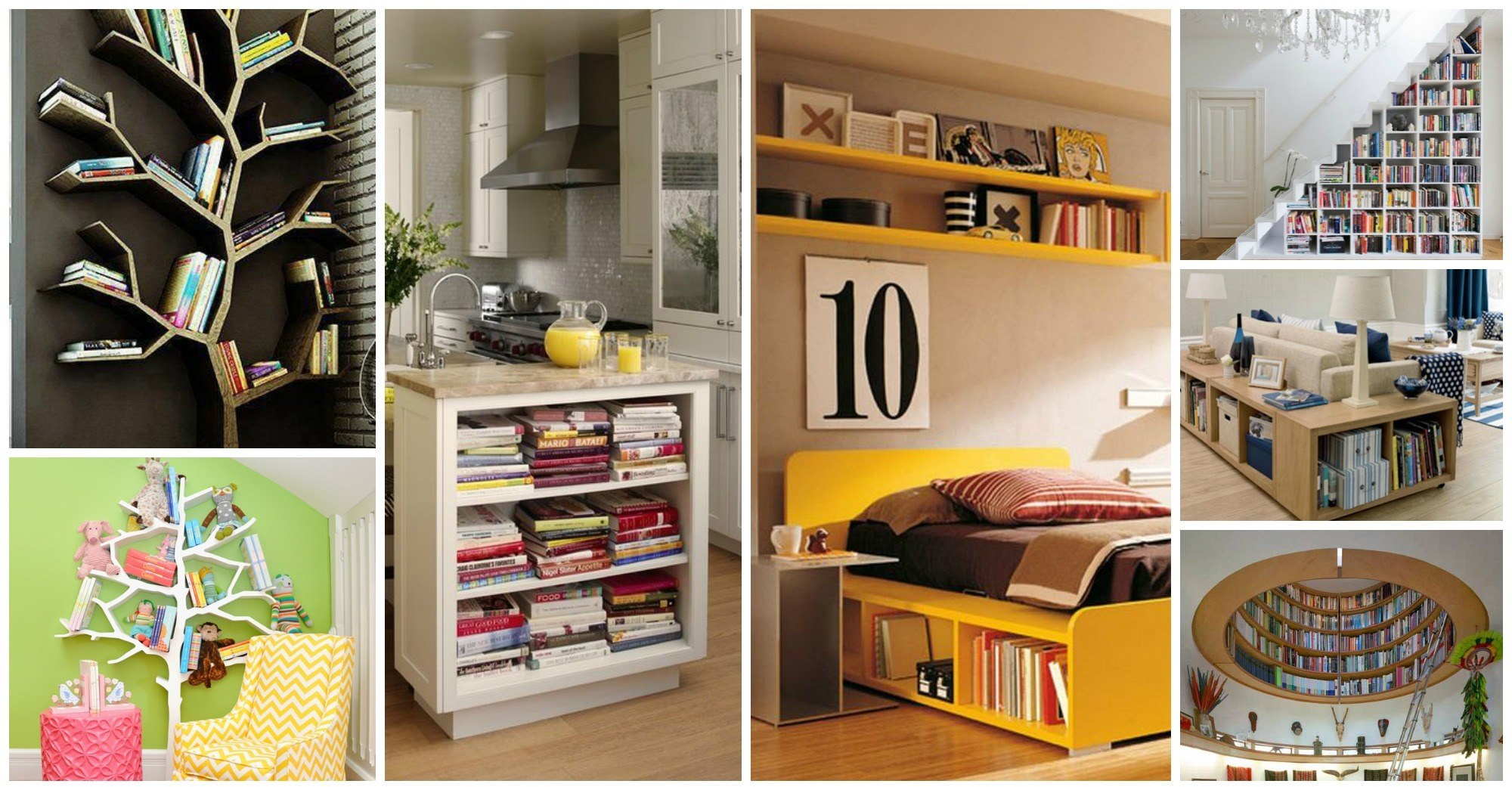 Creative and Innovative Book Storage Ideas You Have to See Now