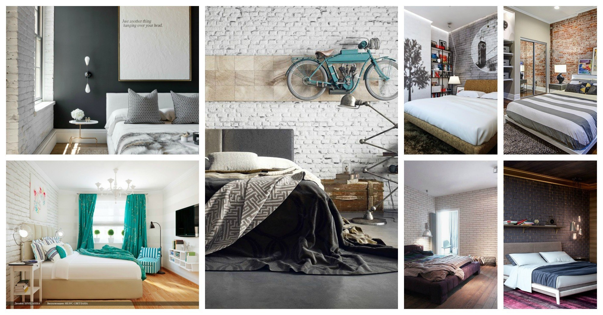 beautiful brick wall bedroom designs that will steal the show