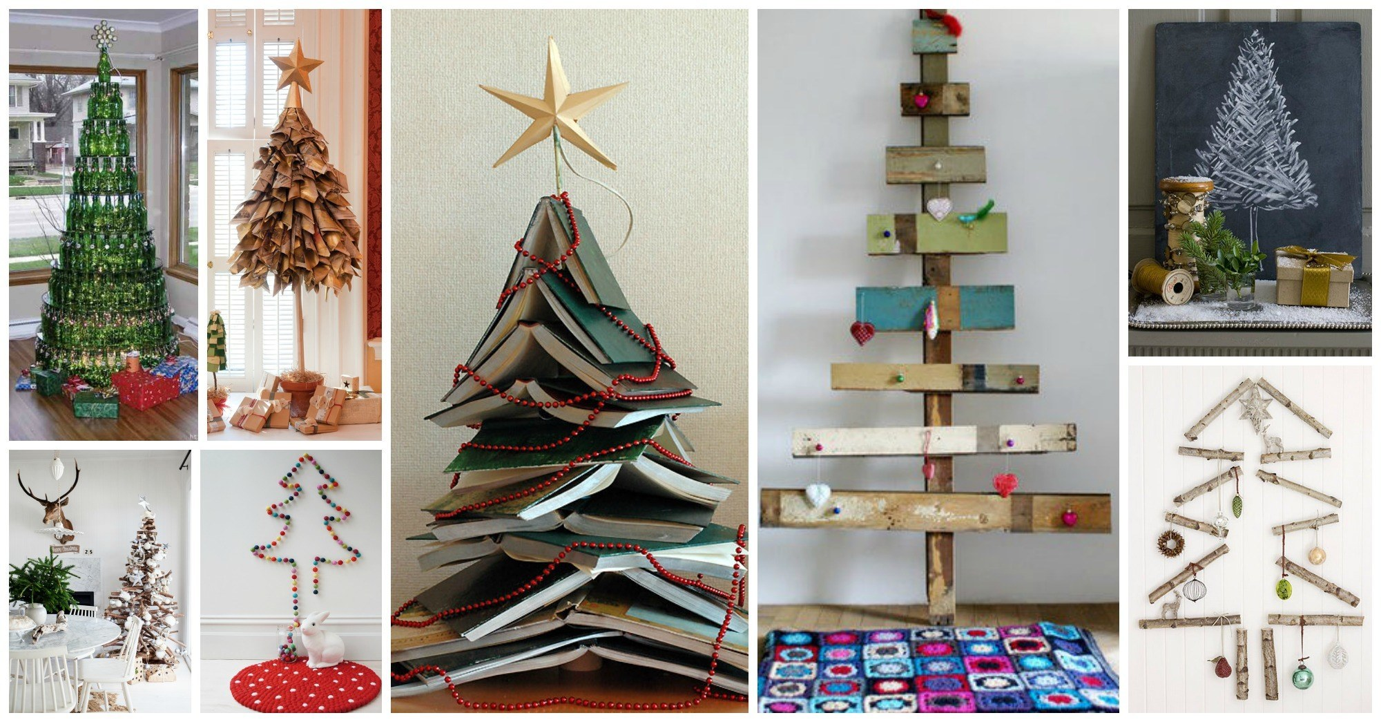 15 Awesome DIY Christmas Trees That Aren't Actual Trees