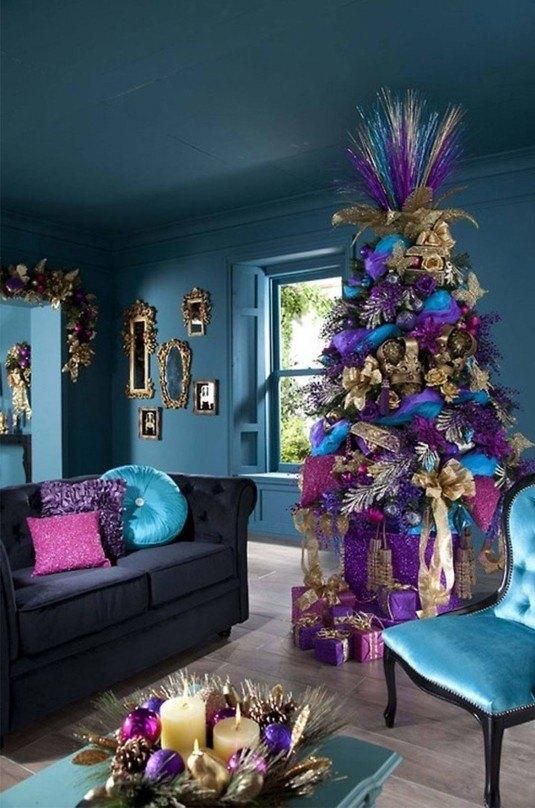cool-christmas-tree-decorating-ideas-image-country-christmas-tree-decorating-ideas-