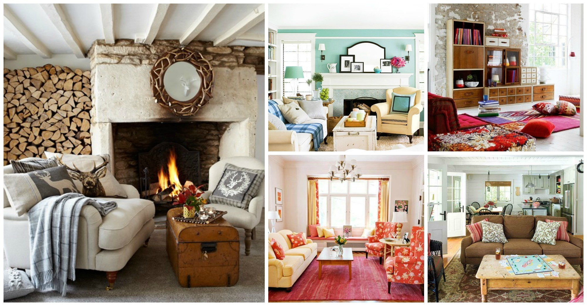10 Country Cottage Living Rooms That Will Warm Your Heart