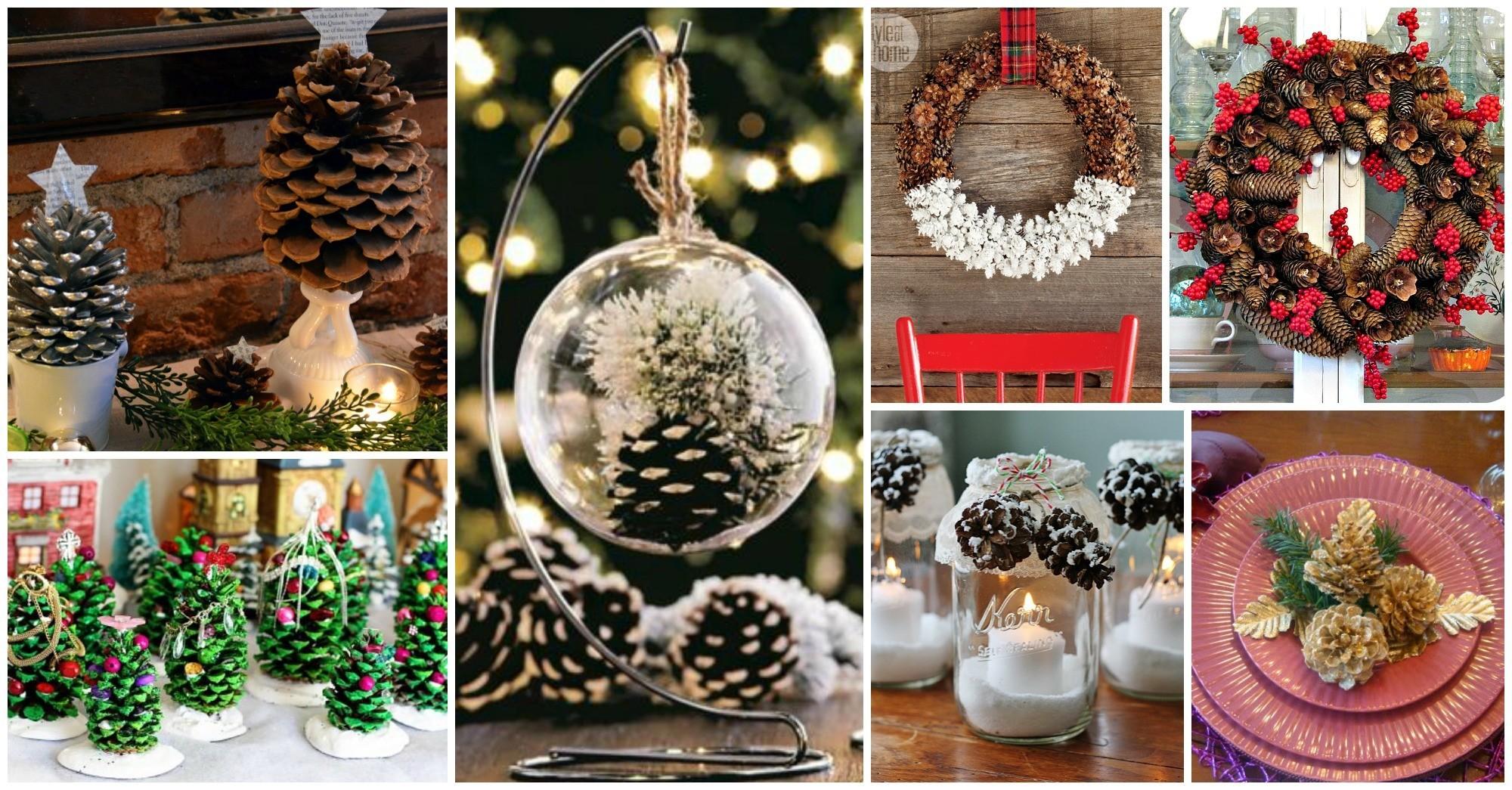 10 Genius DIY Ideas to Transform Pine Cones into Christmas Decorations