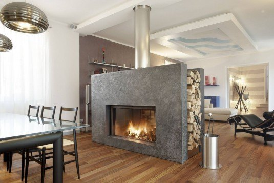 extraordinary-luxurious-double-sided-fireplace-wood-burning-closed-hearth