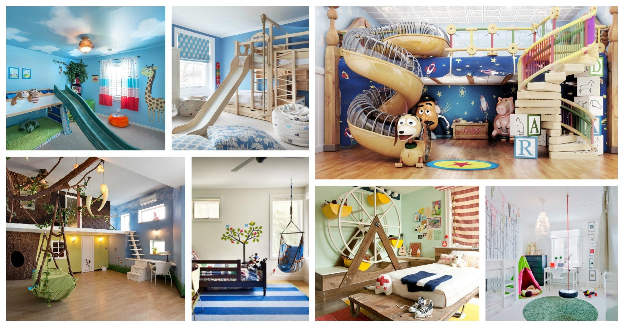 Fun And Interesting Kids Rooms That Will Make Your Kids Happy