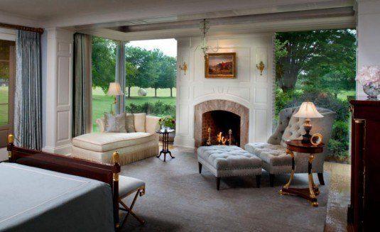 grey lounge chair