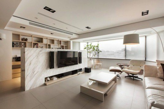 interior-wonderful-contemporary-living-room-design-features-amazing-marble-wall-room-divider-with-cool-entertainment-flatscreen-tv-unit-and-sound-system-setting-room-divider-and-partitions-for-interi