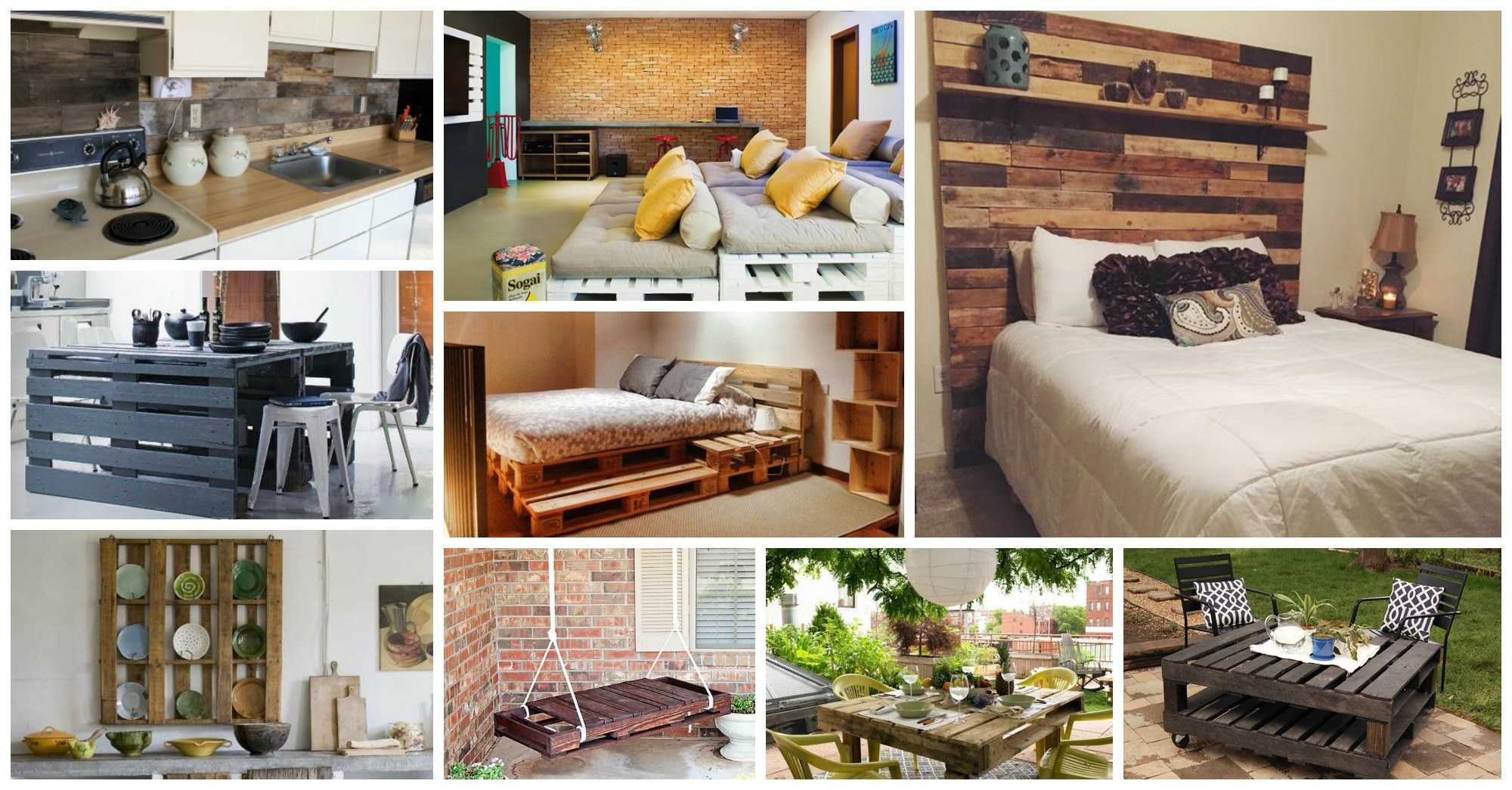 16 Amazing DIY Ideas of How to Incorporate Pallets In Your Interior