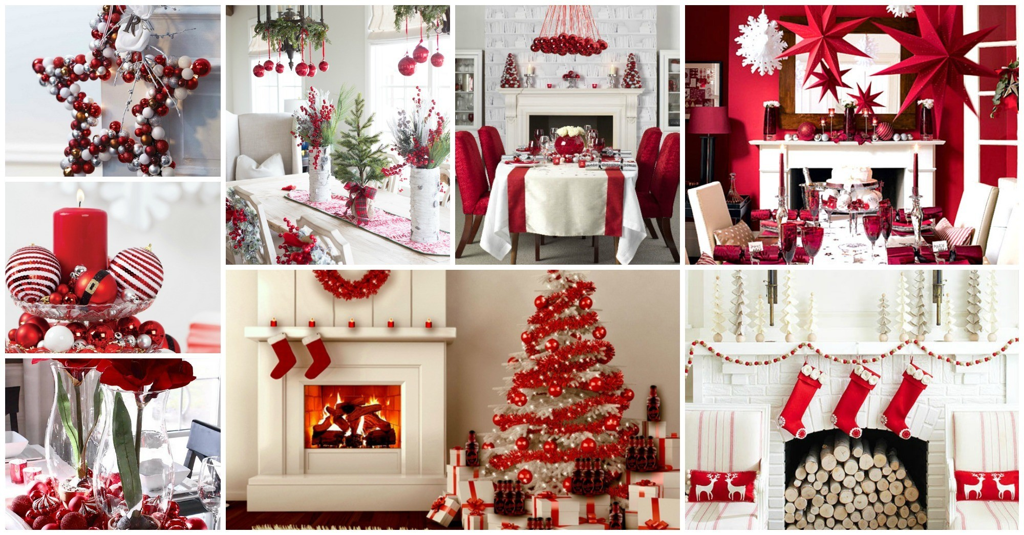 White and Red Christmas Decor Ideas That Will Amaze You
