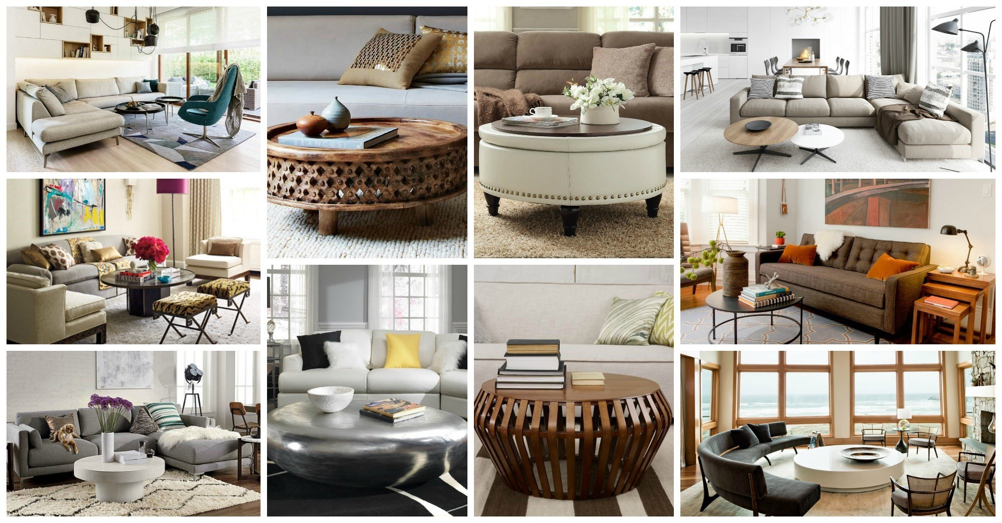 Modern Round Coffee Table Ideas You Are Going to Love
