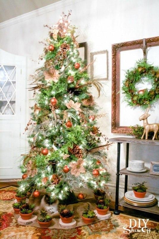 DIYShowOff-Christmas-Tree-enchanted-evergreen-succulents-spruce-682x1024