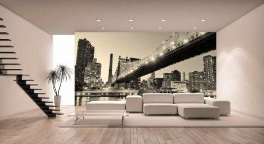 Inspiration-New-York-Fototapete-weißes-Mobiliar